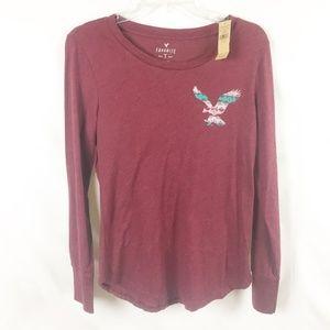 (7-089) American Eagle M NWT Long Sleeve T-shirt